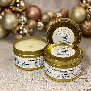 Vanilla Noel 8 oz. Luxury Candle Festive