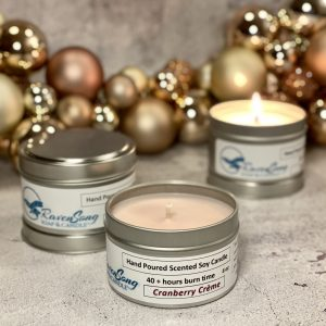 Cranberry Crème 6 oz. tin Festive