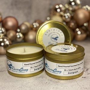 Evergreen 8 oz. Luxury Candle Festive