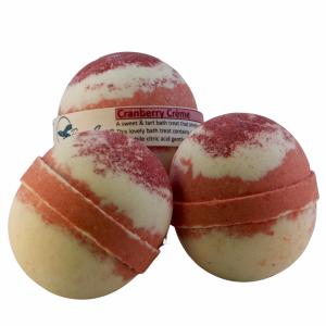 Cranberry Crème Bath Bomb