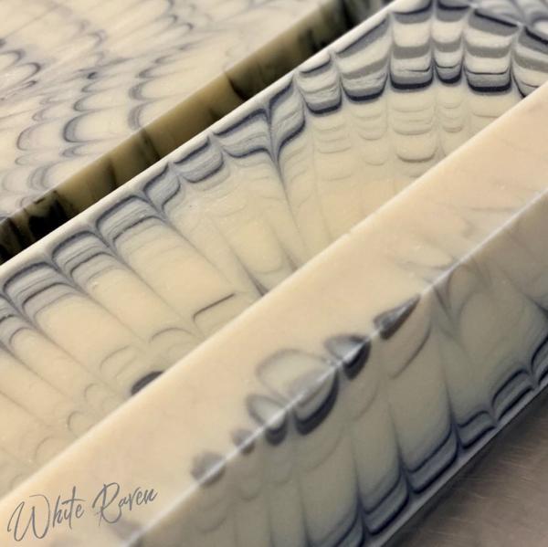 Logs of White Raven Soap