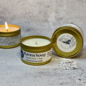 Sweet Grass + Sage Soy Candle