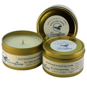 Soy Candle Sweet Grass and Sage